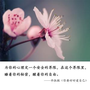 毕淑敏最暖心10句话,带你找回最好的自己
