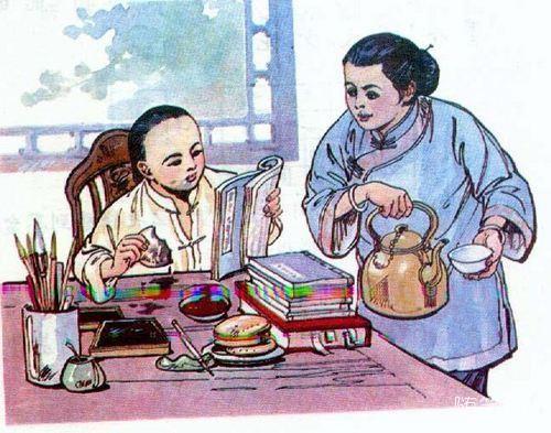 十张小学课文的插图,你还能说出它们出自哪片课文吗?