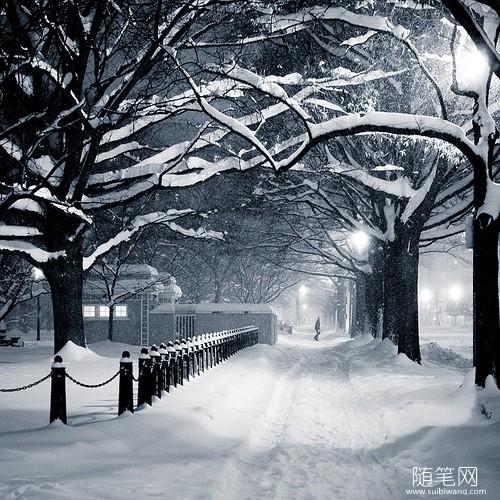 家乡的冬天