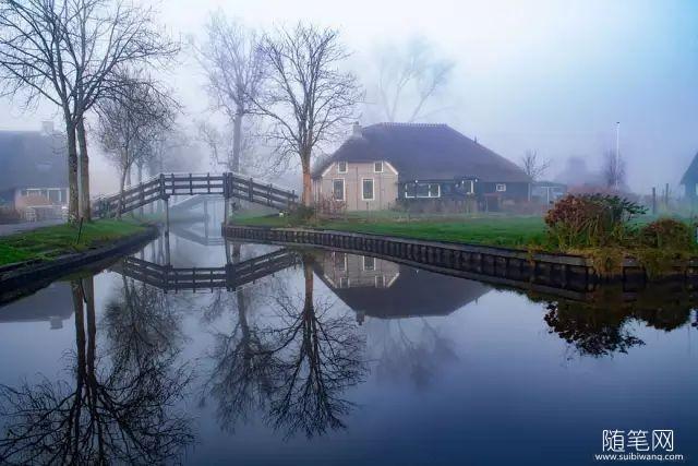 这个没有路的村庄却美上了天