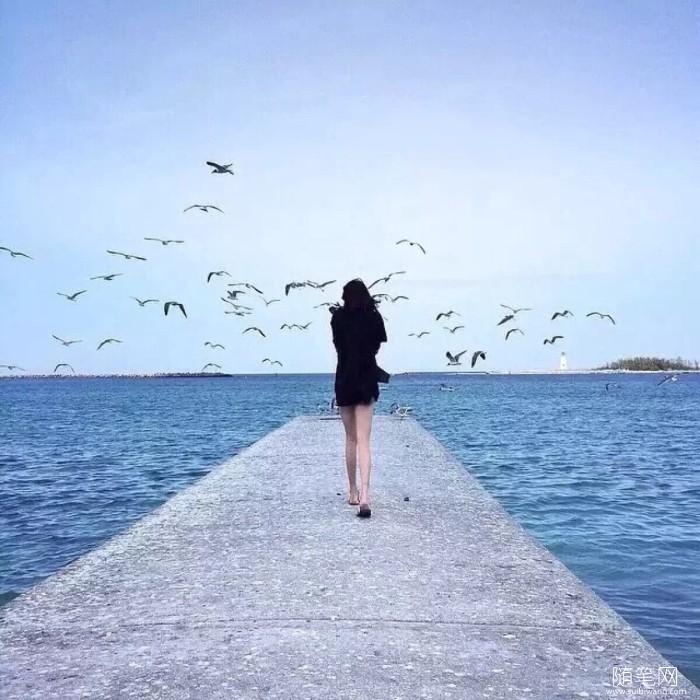 随笔心语:做一个寡言,却心有一片海的人