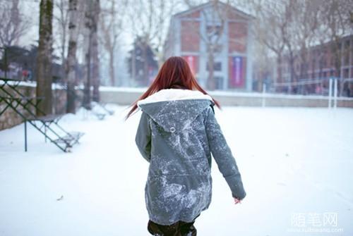 落一肩白眉裁一帘冬雪
